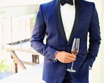 Black Silk Bow Tie. Groomsman Bow Tie. Bow Tie for Groom. Custom Wedding Ties. Black Bow Tie. Freestyle Bow Tie. Formal Bow Tie.