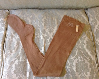 Vintage Flapper Stockings Mercurized Cotton New Old Stock