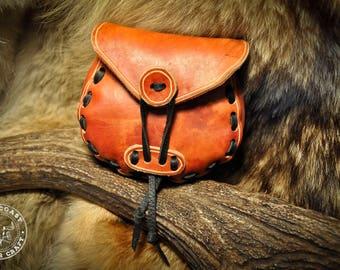 Leather Belt Bag Pouch Sporran