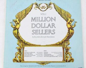 Volume 1 Million Dollar Sellers Longines Symphonette Society Vinyl LP Record Album MDS-VR-1 93925