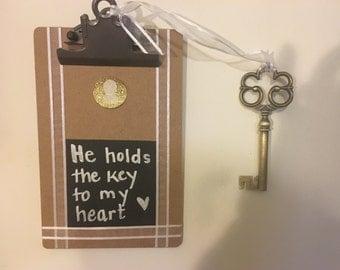 """Decorative """"Key to my Heart"""""""