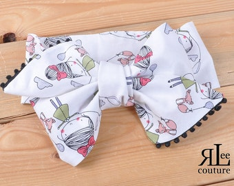 Penelope Headwrap - Bow Headwrap - Head Wrap - Baby Headwrap - Hair Bow