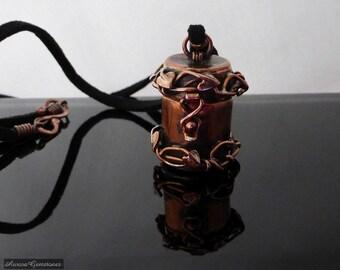 Copper Keepsake Box Necklace