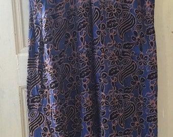 Vintage Batik Dress