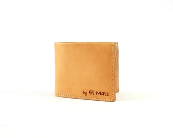 GIFT FOR HIM/Full grain leather wallet/Man's leather wallet/Gift for man/Anniversary gift/Minimalist wallets/Cards holder/Monogramm wallet