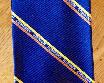 Siemon Company Striped Repp Tie