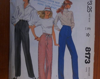 """Vintage 1982 McCall's Pattern - """"The Best Pants Pattern Ever"""""""