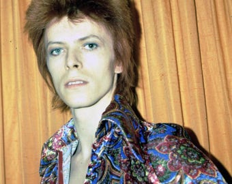 Great photo of David Bowie early 1970's