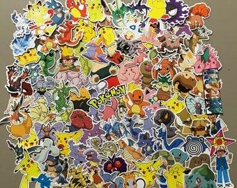 Pokemon Sticker-Bombing Sticker Pack