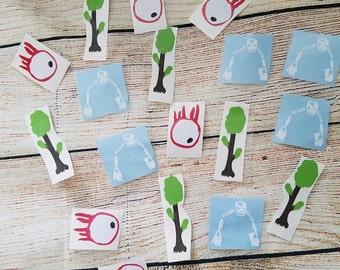 Terraria Vinyl Decal - Terraria Tree - Terraria Eye of Cthulhu  - Terraria Skeletron - Terraria Party - Lunch Box  - Outdoor Vinyl Decal -