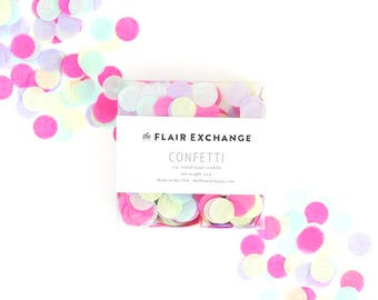 SALE - Tissue Paper Confetti - Pastels | Unicorn | Spring