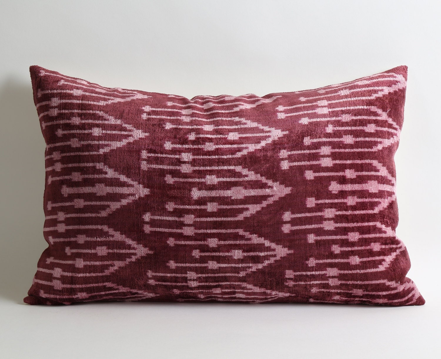 Purple Velvet Decorative Pillows : Purple Velvet Pillow Velvet Pillow Decorative Throw Pillow