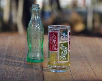 Coca Cola Glass Coca Cola Collectibles Coke Glasses Coca Cola Vintage Glass Coca Cola Decor