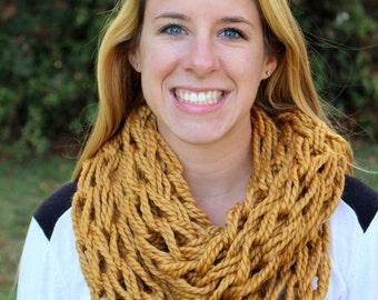 Knit Scarf - Chunky Knit Scarf - Infinity Scarf - Chunky Infinity Scarf - Knitted Scarf - Winter Scarf - Chunky Scarf - Infinity Scarf Knit