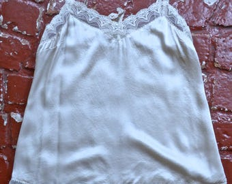 Ivory Silk Lace Camisole