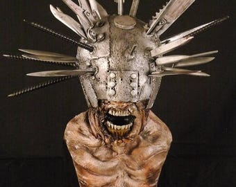 1:1 scale the walking dead Winslow junkyard zombie bust