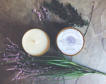 Stand With Women: Candles for a Cause - Vanilla Lavender Candle   Percentage of Profits Donated to Planned Parenthood