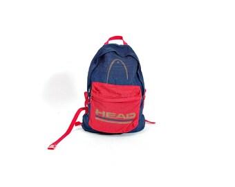 30% OFF SALE - 90s HEAD Old School Sportswear Backpack