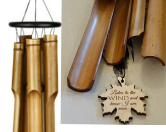 BEST seller Gift Wind MEMORIAL Wind Chime Bamboo Gift after loss of loved one baby stillbirth miscarriage memorial garden loss