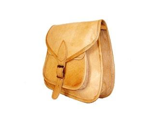 Vintage Leather bag, Handcrafted Leather bag, Women Leather Satchel Bag, Leather Satchel, Rustic Leather Bag