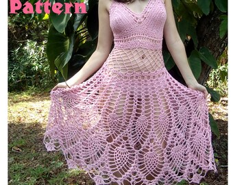 PATTERN: Fairy pixie dress pineapple skirt