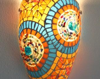 gemozaïekte Wall lamp