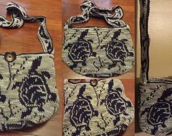 Handmade Turtle Bag - READY TO SHIP