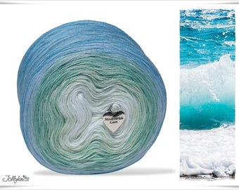 Gradient Yarn Merino Sea Breeze 500m