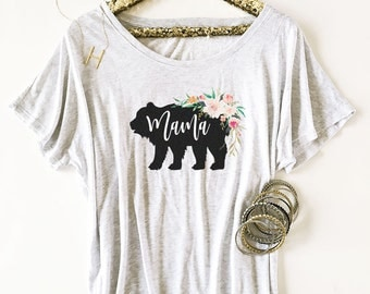 Mama Bear Shirt Momma Bear Shirt Mom Shirt Mothers Day Gift Mothers Day Shirt New Mom Shirt Baby Shower Gift Maternity Shirt (EB3202RTB)