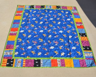Pirate Lap / Baby Quilt