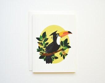 Toucan Graduation Card