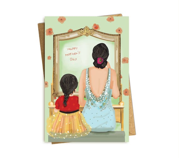 Mother's Day Card. Vanity Share