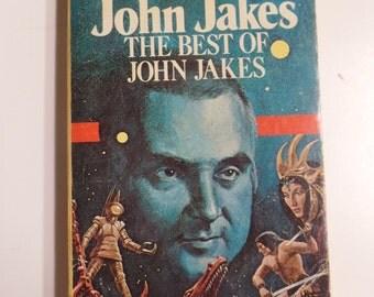 The Best of John Jakes DAW Books #244 1977 Vintage Sci-Fi Paperback