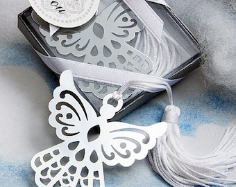 Angel Bookmark Wedding Party Religious Christening Favor 36-100 Qty  6515