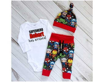 Coming home outfit,Superhero outfit, baby superhero, Newborn boys going home outfit, superhero bodysuit, superhero theme
