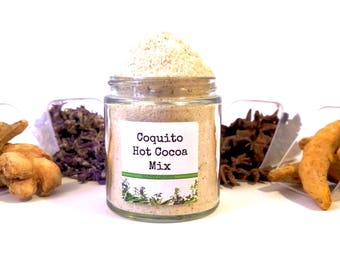 Coquito Drinking Chocolate Hot Cocoa Mix Foodie Gift