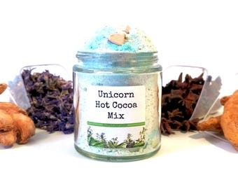 Unicorn Drinking Chocolate Hot Cocoa Mix Foodie Gift
