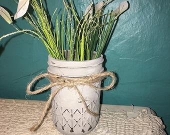 Chalk Painted Jelly Jar (8 oz)
