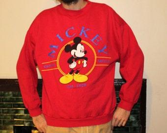 Mickey Mouse sweatshirt/ size- extra large