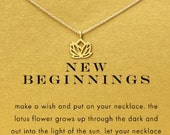 New Beginnings Necklace (gold or silver)