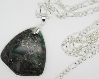 Pendant, Green Pendant, Gemstone Pendant, Agate Pendant, Jasper Pendant, Green Necklace, Gemstone Necklace, Jasper Necklace, Green agate