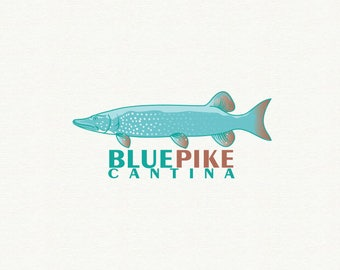 Fishing logo etsy for Cool fishing games