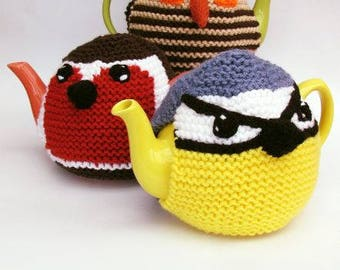 Three Birds Tea Cosy Knitting Pattern