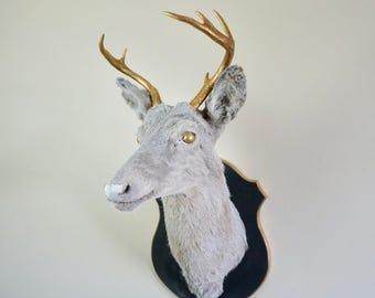 Wall Mount Decor deer head wall mount | etsy