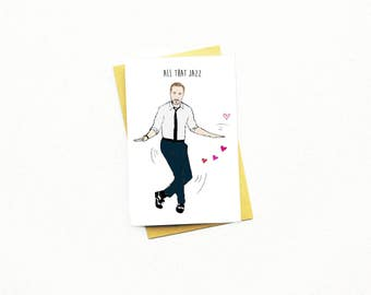 Funny Ryan Gosling Card..La La Land...Anniversary Card...Hey Girl...Friend Card...Birthday Card...Funny Valentine's Day Card...All That Jazz