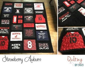 Custom Tshirt Quilt Queen/King Size 100x100 Tshirt : custom tshirt quilts - Adamdwight.com