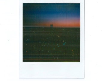Polaroid of The World Trade Center Buildings, NYC 1984