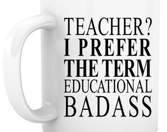 Christmas Gift for Teachers personalized coffee mug tea cup holiday gift ideas teacher gifts