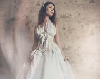 1890's historical underbust corset
