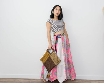 Vintage 70s Homemade Hippie Maxi Skirt